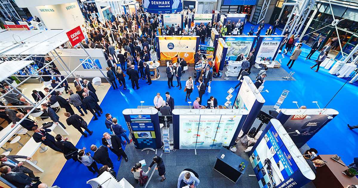 Expo Stands Trade Fair 2017 : Exhibition stands offshore wind energy